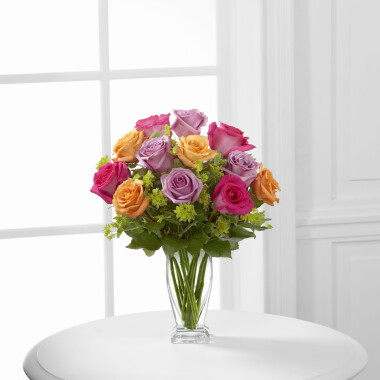 The FTD® Pure Enchantment™ Rose Bouquet