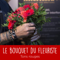 Bouquet du fleuriste Rouge